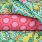 Amy Butler cotton fabris are great for summer clothes.