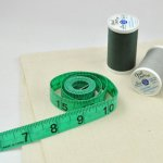 Simple, but mighty, the tape measure is one of the most important sewing tools.