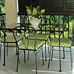 Before & After: Antique Iron Patio Set
