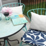 Easy Outdoor Cushion Tutorial