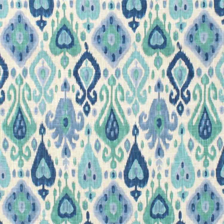 Richloom Django Turquoise Fabric