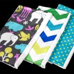 How to Make Burp Cloths (Video Tutorial)