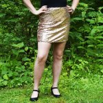 DIY Sequin Skirt Tutorial