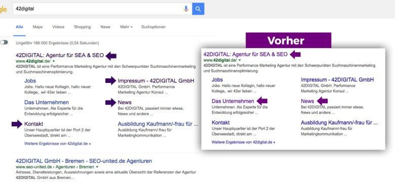 Google visited link Color