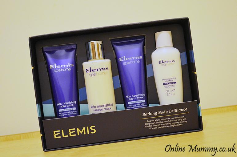 Elemis Bathing Body Brilliance set