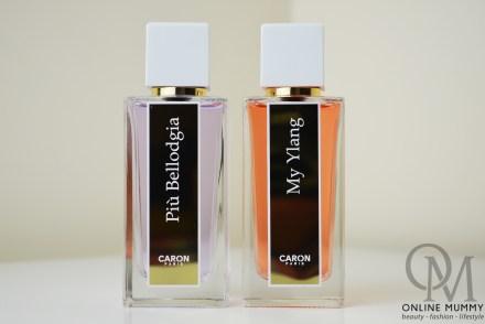 Caron Paris My Ylang and Più Bellodgia