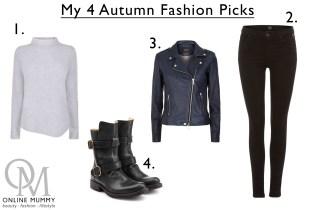 Autumn Fashion Picks