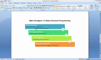 JAVA #02 - Main Paradigms of Object Oriented Programming
