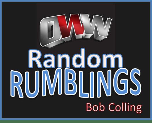 Random Rumblings
