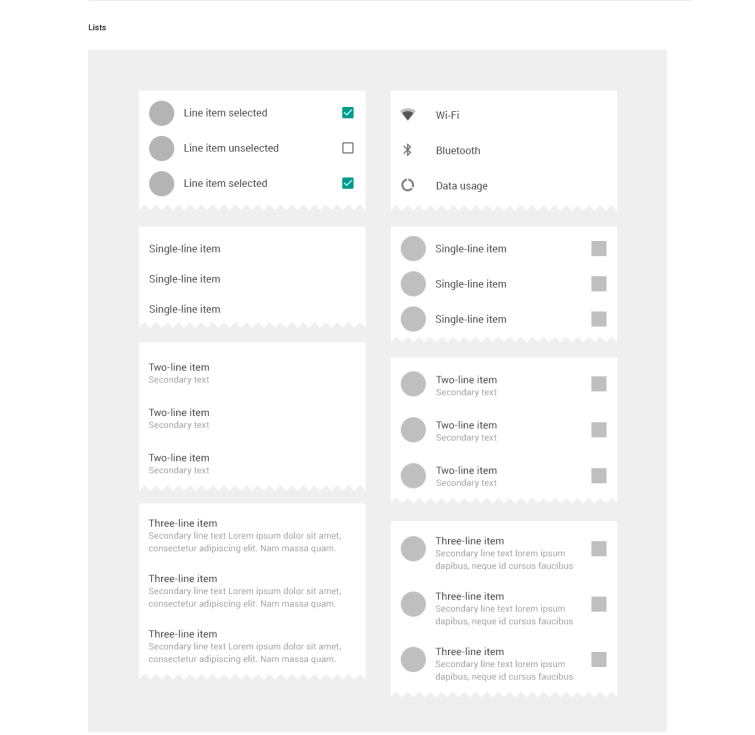 Huge Material Design GUI Kit previews_03