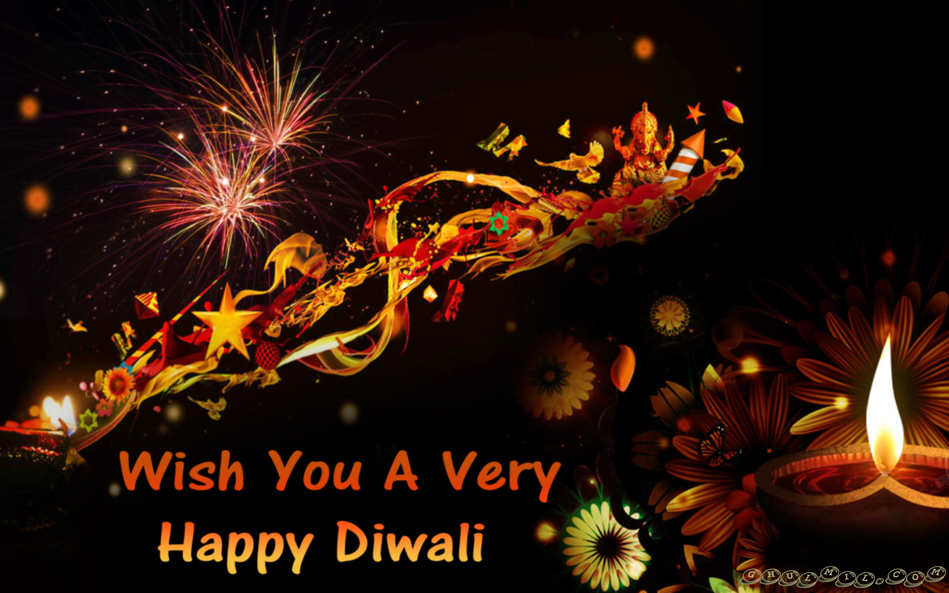Diwali festival animated images