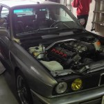 "200whp E30 M3 on ""War Chip"""
