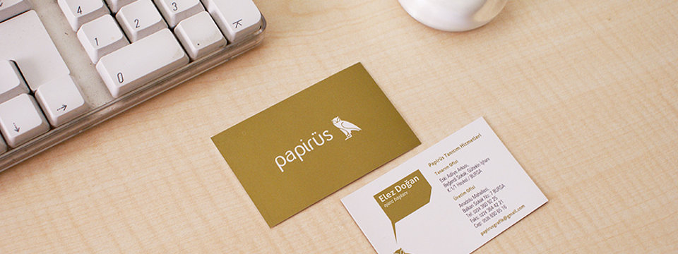 What Your Business card Says About You