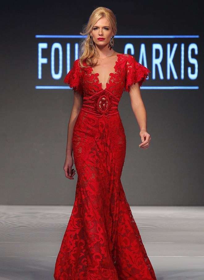 1cdbe5e5203a1 The post أزياء فؤاد سركيس لربيع و صيف 2016 appeared first on أنثى. فساتين