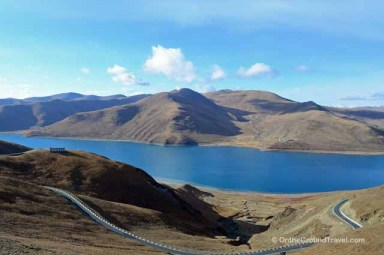 Trip to Tibet Travel - Yamdrok Lake