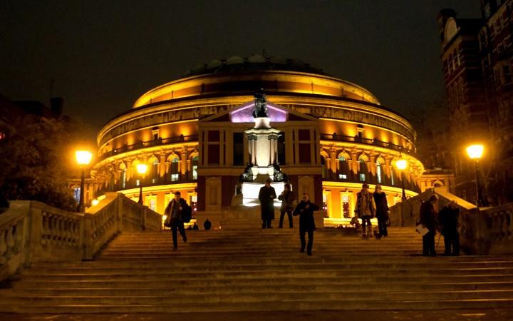 Carols at the Royal Albert Hall in London