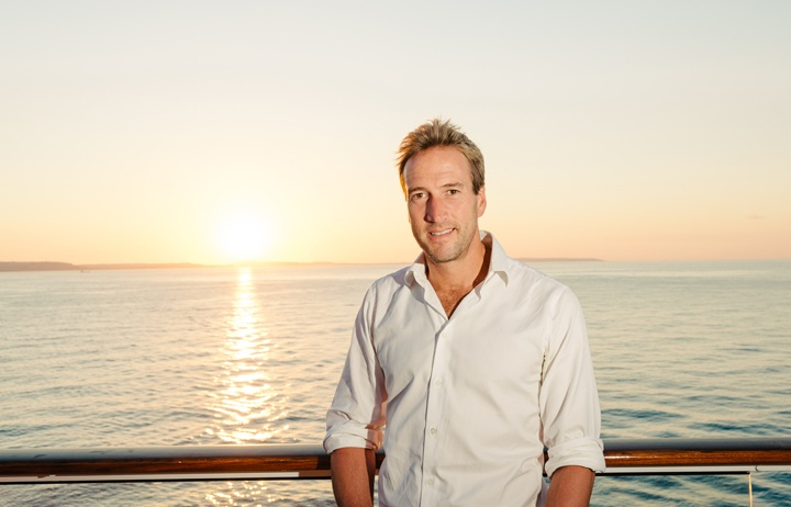 Adventurer and TV presenter Ben Fogle