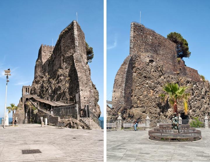 Aci Castello on the Catania coastline, Sicily