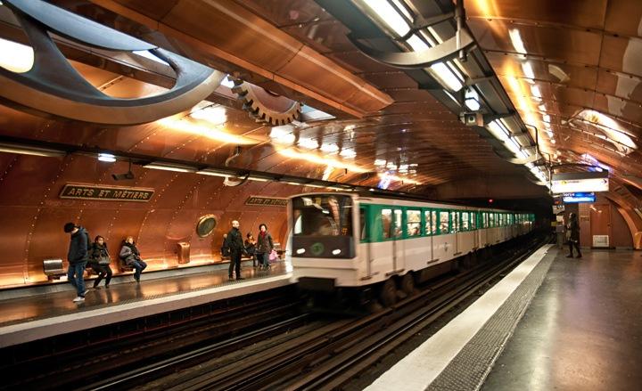 Arts et Métiers metro station