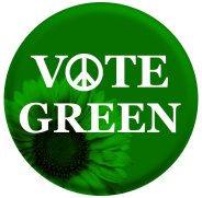 Green Party Button 4