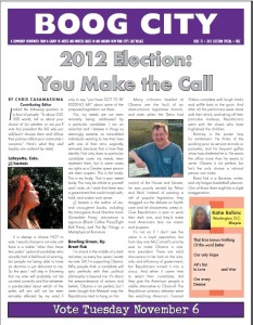 boog city 75 election issue 2012