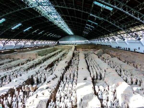 Xian Terra Cotta Warriors China photo rolling coconut ooaworld