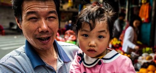 Faces of Guangzhou China