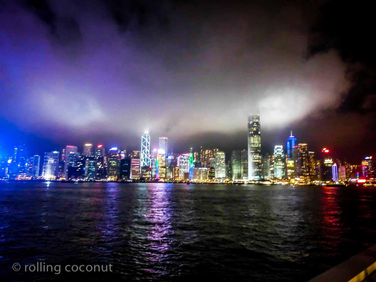 victoria bay kowloon hong-kong
