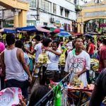 Manila Crowd at Quiapo Church Easter Week