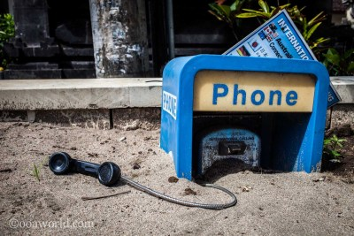 Buried Phone Bali