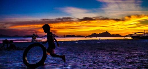 El Nido Sunset Palawan Philippines 8