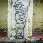 Street art Man Georgetown Malaysia