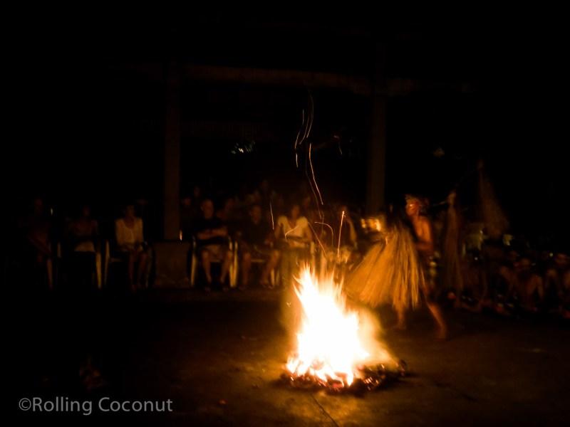 Kecak Fire Dance Ubud Balli Indonesia photo Ooaworld