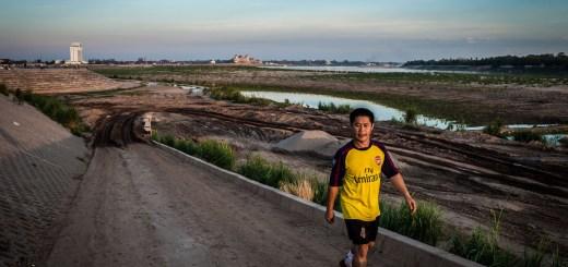 Mekong River Vientiane Laos Photo Ooaworld