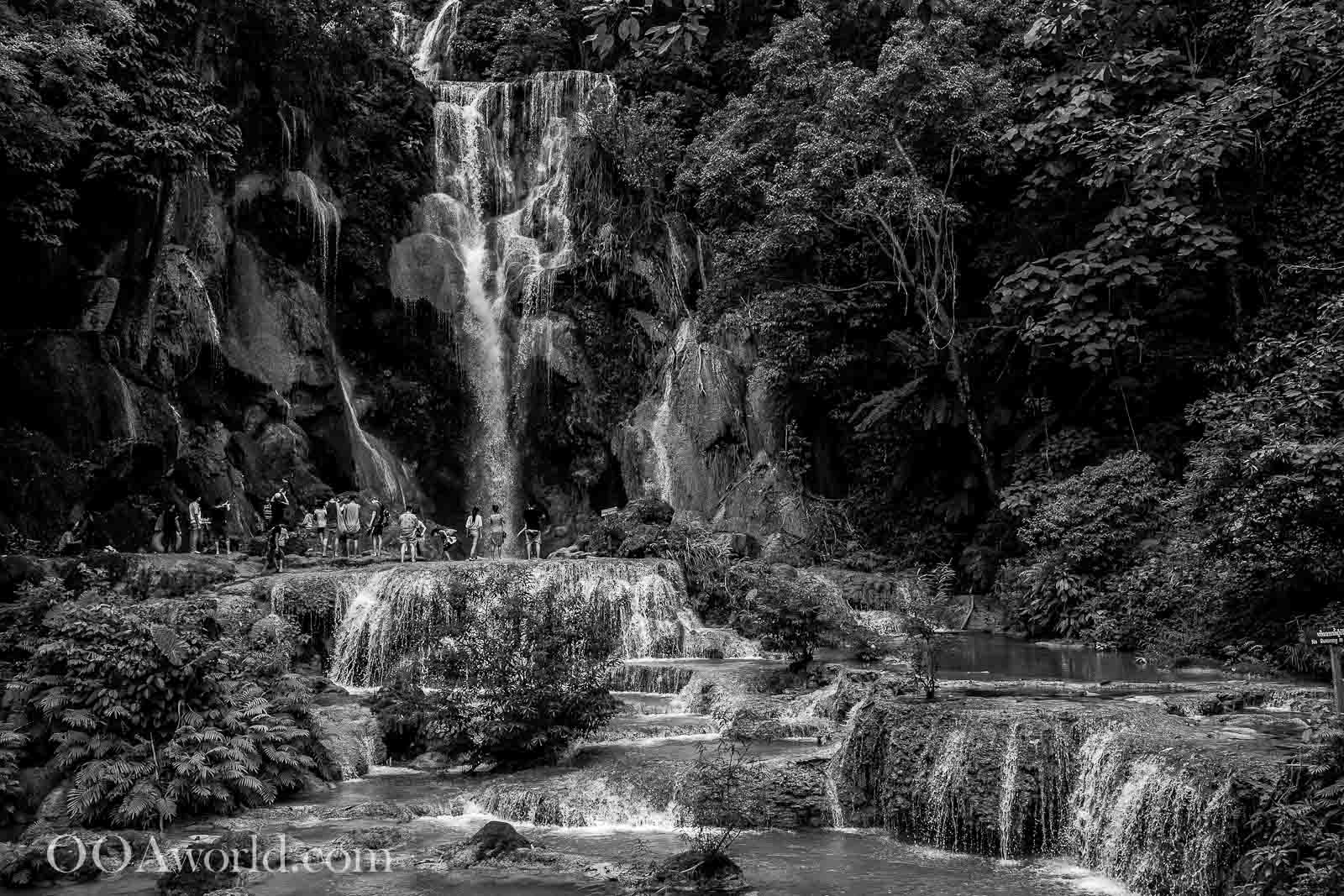 Luang Prabang Waterfall Kuang Si Falls Photo Ooaworld