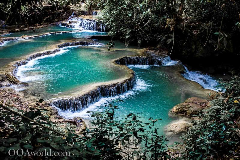 Kuang Si Falls Photos Ooaworld