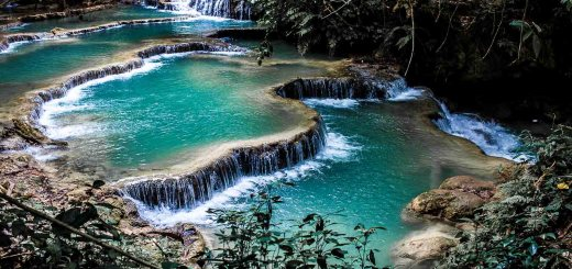 Kuang Si Falls Photos Ooaworld