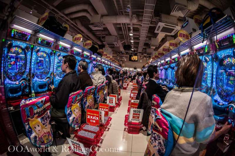 Pachinko Slots Machine Japan Photo Ooaworld