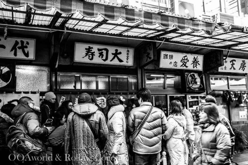 Sushidai Tsukiji Fish Market Photo Ooaworld