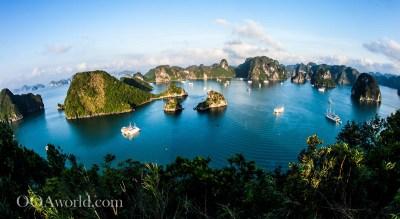 Halong Bay Vietnam Overnight Cruise Photo Ooaworld