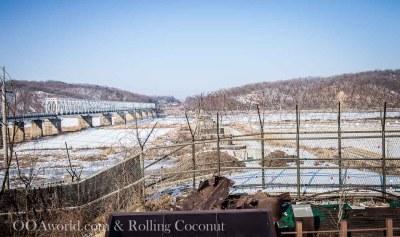 North Korea Border Photo Ooaworld