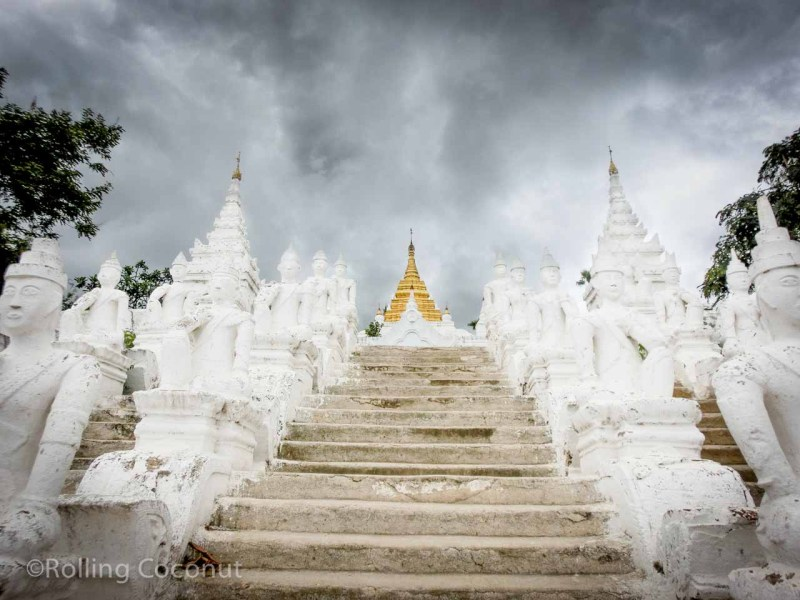 Pagoda Mingun Myanmar Photo Ooaworld