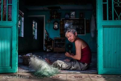 Hoi An Fisherman Vietnam Photo Ooaworld
