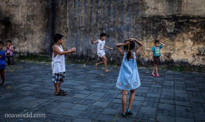 Hoi An Kids Playing Vietnam Photo Ooaworld