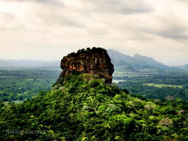 Sigiriya View Travel Ooaworld Rolling Coconut Photo Ooaworld