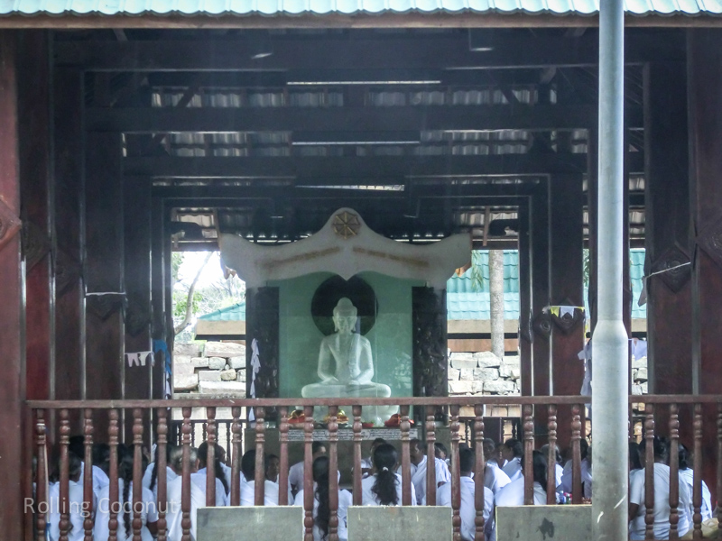 Buddhist Temple Anuradhapura Sri Lanka ooaworld Rolling Coconut Photo Ooaworld