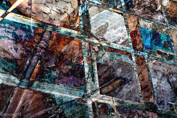 Barcelona layers art photo ooaworld