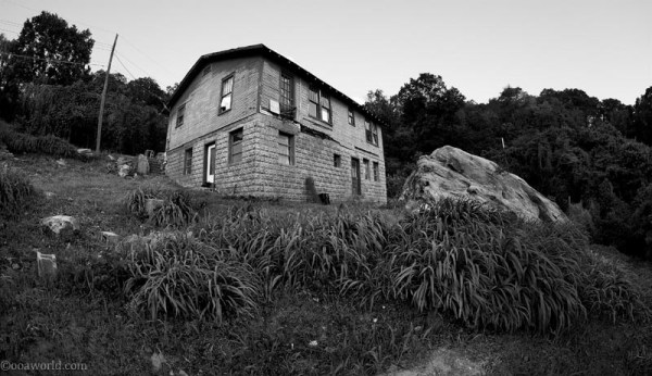 A chalet on the hill overlooking Chattanooga