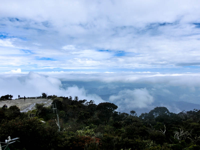 Clouds Laban Rata Mount KInabalu photo ooaworld Rolling Coconut