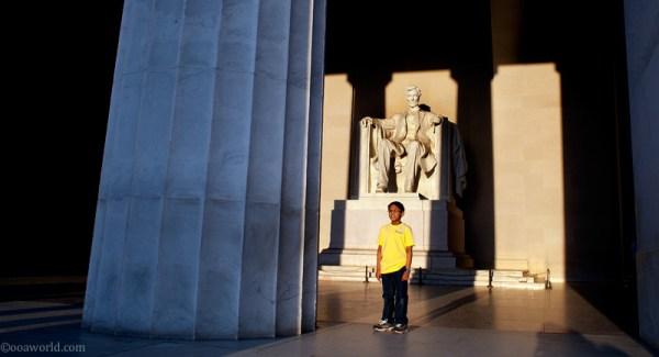 lincoln memorial groundedinlight  USA road trip photo ooaworld
